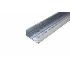 Профиль потолочный несущий Gyproc Ультра 0,6мм 60х27х4000мм