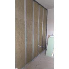 звукоизоляция  стен 90 мм